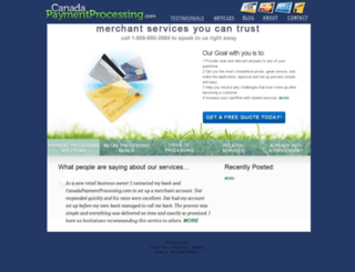 canadapaymentprocessing.com screenshot