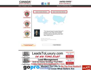 canadareferral.com screenshot