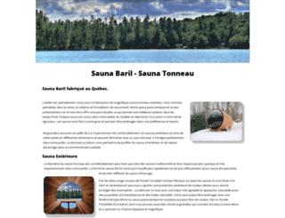 canadasauna.ca screenshot