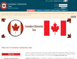 canadian-citizenshiptest.com screenshot