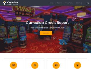canadian-creditreport.com screenshot