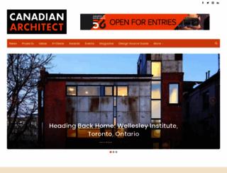 canadianarchitect.com screenshot