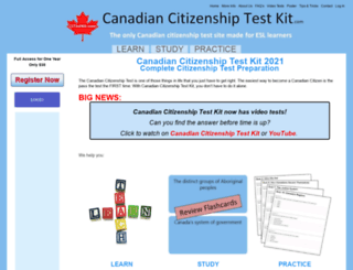 canadiancitizenshiptestkit.com screenshot