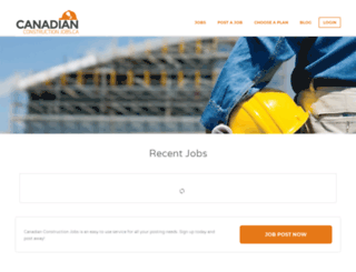 canadianconstructionjobs.ca screenshot