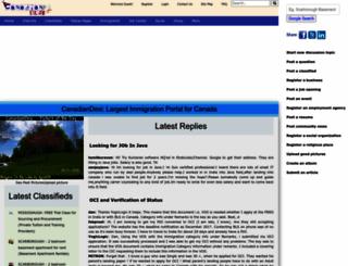 canadiandesi.com screenshot