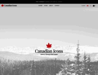 canadianicons.ca screenshot