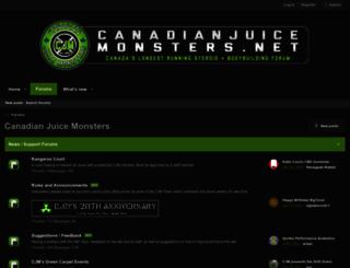 canadianjuicemonsters.net screenshot