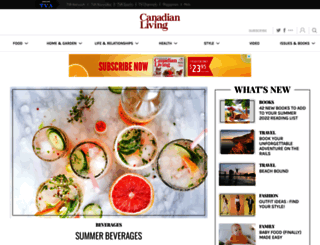 canadianliving.com screenshot