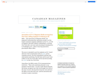 canadianmags.blogspot.com screenshot