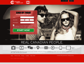 canadianmatch.com screenshot