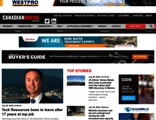 canadianminingjournal.com screenshot