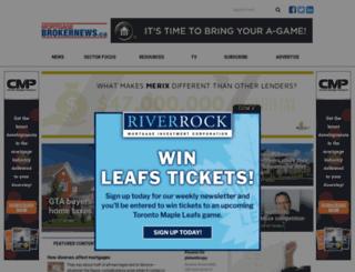 canadianmortgageprofessional.com screenshot