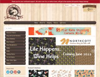 canadiannationalfabric.com screenshot