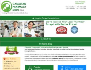 canadianpharmacymeds.com screenshot