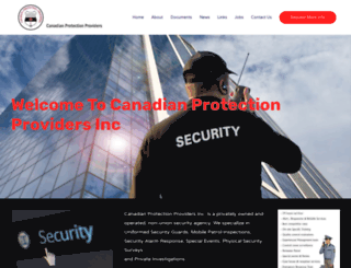 canadianprotectionproviders.ca screenshot