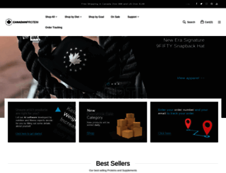 canadianprotein.com screenshot