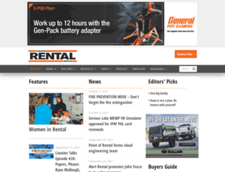 canadianrentalservice.com screenshot