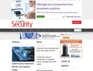 canadiansecuritymag.com screenshot