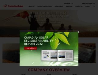 canadiansolar.com screenshot