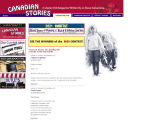 canadianstories.net screenshot