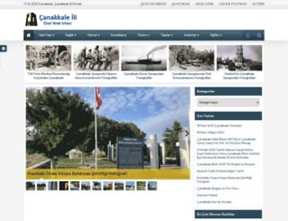 canakkaleili.com screenshot