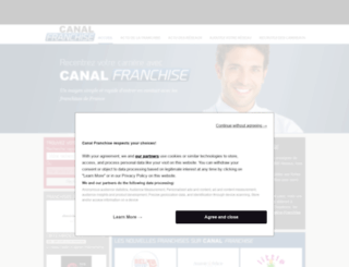 canal-franchise.com screenshot