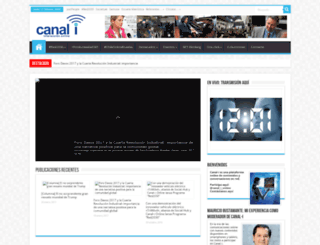 canal-i.cl screenshot