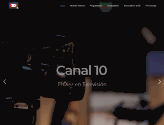 canal10.com.mx screenshot