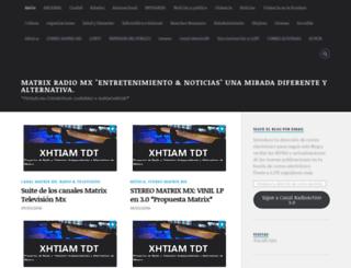 canal14mx.wordpress.com screenshot