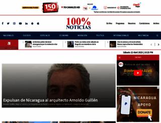 canal15.com.ni screenshot