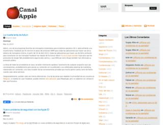 canalapple.com screenshot