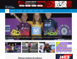 canalciclismo.com screenshot