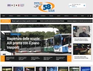 canale58.com screenshot