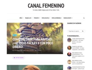 canalfemenino.com screenshot