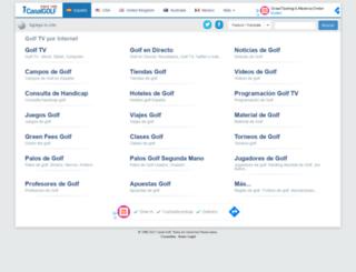 canalgolf.com screenshot