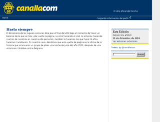 canalla.com screenshot