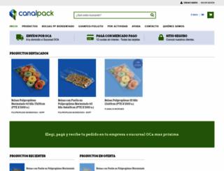 canalpack.mitiendanube.com screenshot