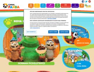 canalpanda.pt screenshot