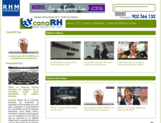 canalrrhh.com screenshot