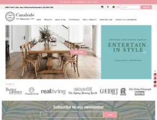 canalside.com.au screenshot