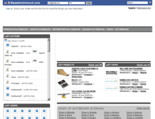 canalskateboard.com screenshot