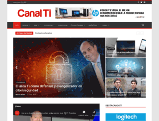 canalti.com.pe screenshot