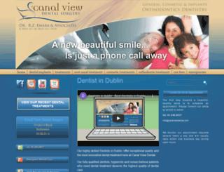 canalviewdental.com screenshot