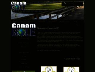 canamgolf.net screenshot