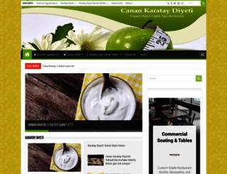 canankarataydiyeti.com screenshot