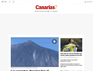 canarias7.es screenshot