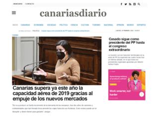 canariasdiario.com screenshot