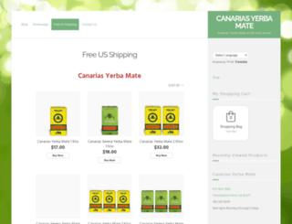 canariasyerbamate.com screenshot