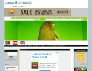 canarilalmada.com screenshot