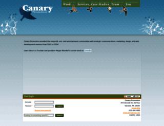 canarypromo.com screenshot